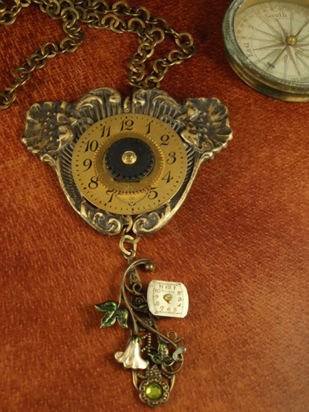 Image of steampunk necklace