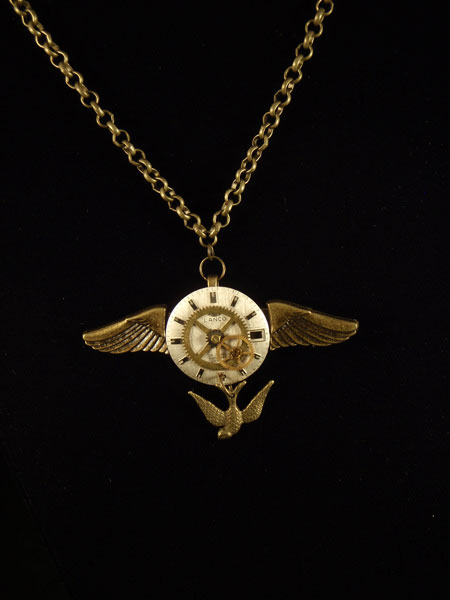 image of Lady C. L. Hoctor steampunk necklace