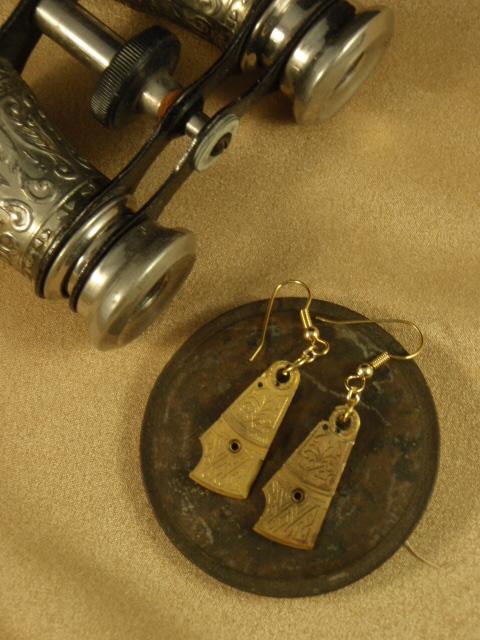image of steampunk earrings