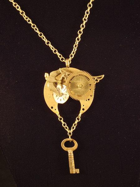 Image of necklace by Jennifer Campbell