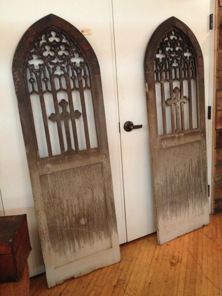 Pair of doors at Old Portland Hardware and Architectural