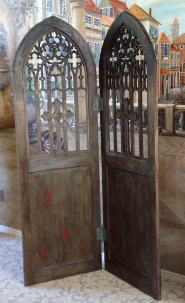 Gothic Door Room Divider