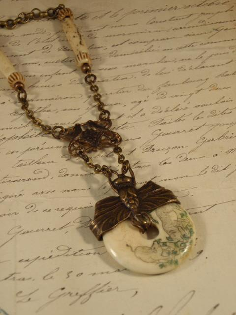 Image of Vintage Treasures Necklace b Jennifer Campbell